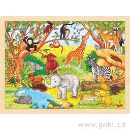 Puzzle nadesce – Afrika, 48dílů