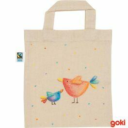 Bavlněná taška kvymalování malá, fairtrade