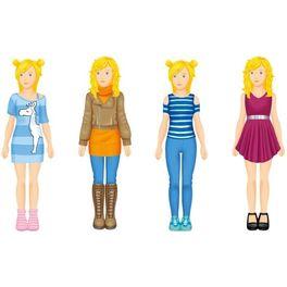 Papírová oblékací panenka