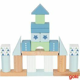 Stavební kostky – Lifestyle modrá