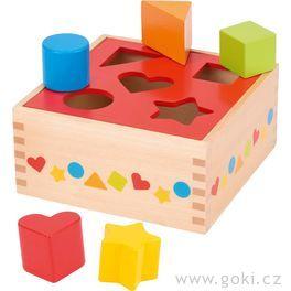 Vkládačka zedřeva, základní tvary