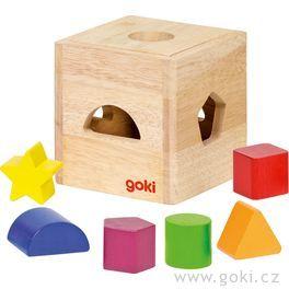 Dřevěná vkládačka II– tvary