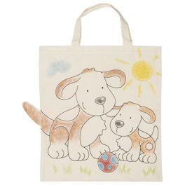 Bavlněná taška kvymalování – Pejsci