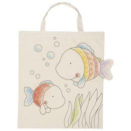 Bavlněná taška kvymalování – Rybky