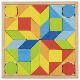 Dřevěný hlavolam – Mozaika, 44díly