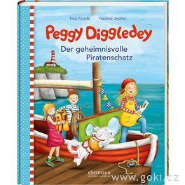 Knížka proděti Peggy Diggledey – Tajuplný pirátský poklad