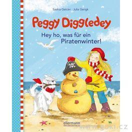 Knížka proděti Peggy Diggledey – Hejhou, tojepirátská zima!