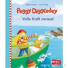 Maxi obrázková knížka Peggy Diggledey – Plnou parou vpřed!