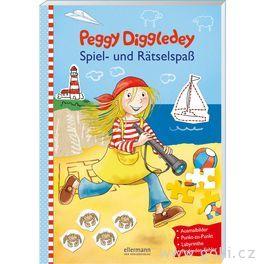 Zábavná knížka Peggy Diggledey – hryahádanky