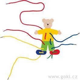 Provlékací hračka – Medvídek
