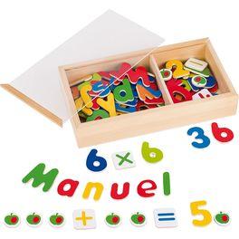 Magnetky – čísla apísmena