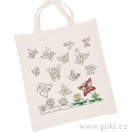 Bavlněná taška kvymalování – Motýli