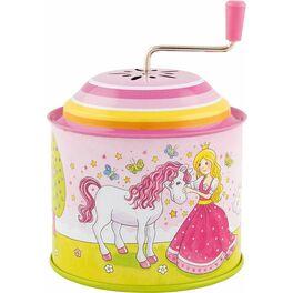 Princezna – hrací skříňka skličkou, melodie: Twinkle Twinkle Little Star
