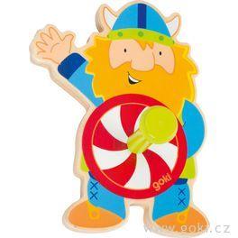 Dřevěný věšáček – viking