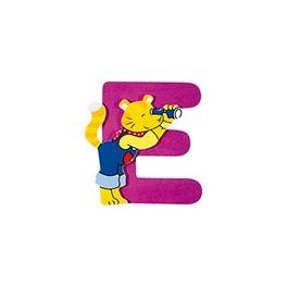 Dřevěné písmeno E