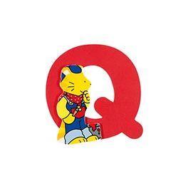 Dřevěné písmeno Q