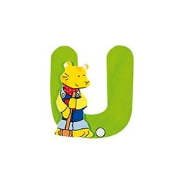 Dřevěné písmeno U