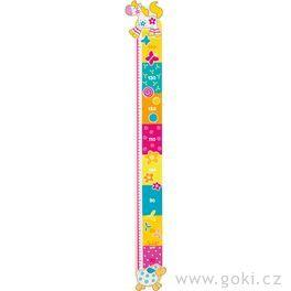 Dětský dřevěný metr – Susibelle, 96cm