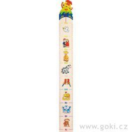 Dětský dřevěný metr – Noemova archa, 100cm