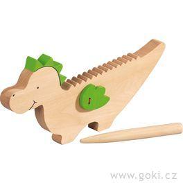 Dráček Kvído – hudební hračka zedřeva