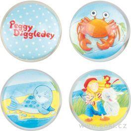 Skákací míček – Peggy Diggledey, 4,5cm