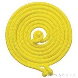 Švihadlo 500cm– žluté