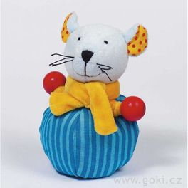 *AKCE* Plyšová hračka myška promiminka, bavlna Westfalenstoffe