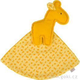 Žirafa – žlutý mazlíček usínáček