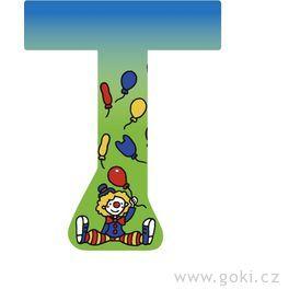 Ozdobné písmeno zedřeva T