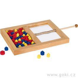 Stolní hra– Kolečkové mikádo