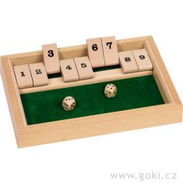 Stolní hra – Shut the box II