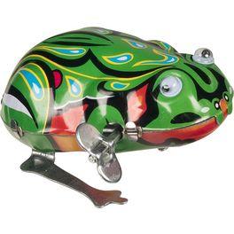 Skákací žába spohybujícíma očima