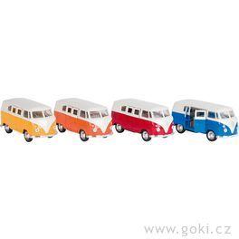 VWClassical Bus(1962) sezpětným natahováním, měřítko 1:37