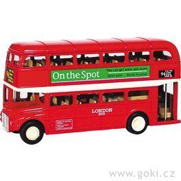 London Bussezpětným natahováním