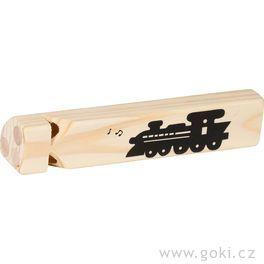 Třítónová flétna – parní lokomotiva