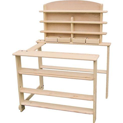 Dřevěný obchod napotraviny - Goki