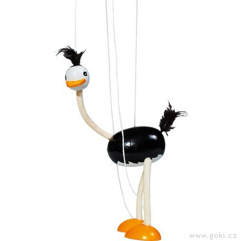 Marioneta – pštros - Goki
