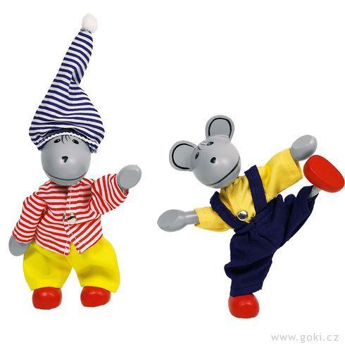 Panenky dodomečku – myšky - Goki