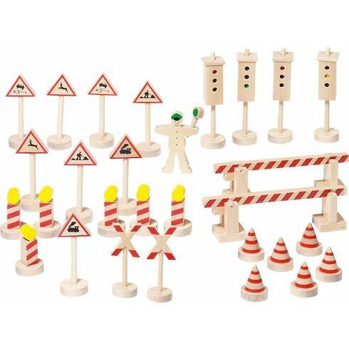 Dopravní značení snastavitelnými semafory, 29dílů - Goki