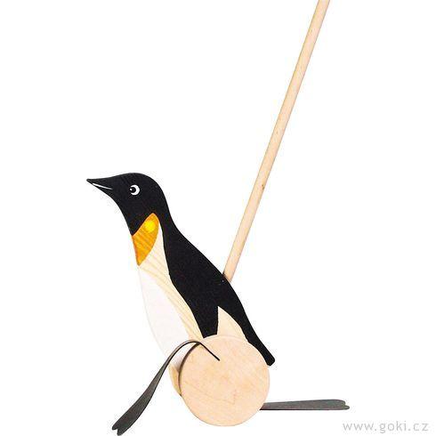 Plácačka – Tučňák - Goki